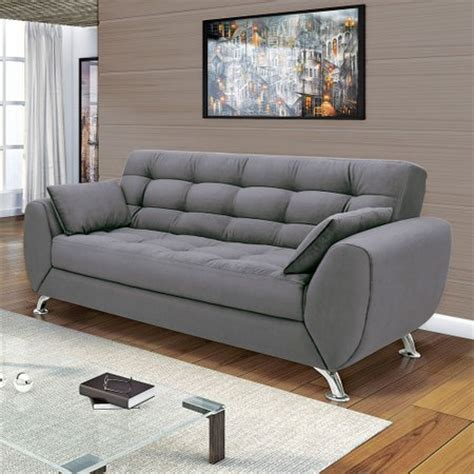 sofá 3 lugares linoforte larissa em tecido suede marrom sof 225 3 lugares linoforte larissa colombo