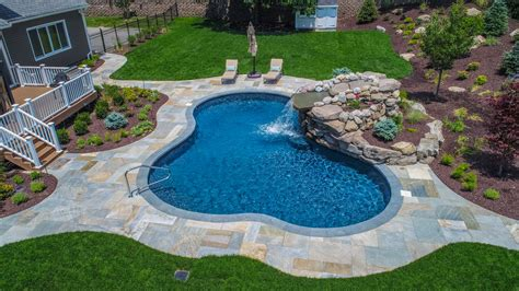 Backyard Landscape Plans by Scotch Plains New Jersey Landscape Design Backyard