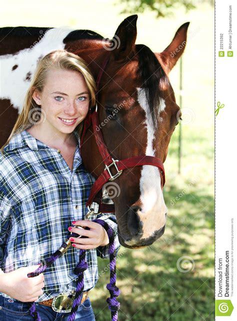 horse teen caucasian hobby preview