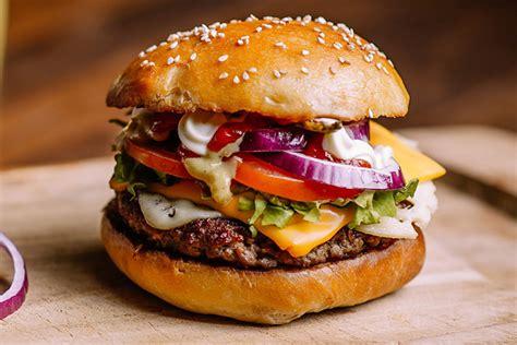 le hamburger passe  table cuisine achat la viandefr