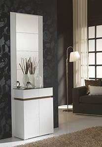 Meuble D Entrée Blanc : meuble d entree moderne venus zd1 meu dentr ~ Teatrodelosmanantiales.com Idées de Décoration
