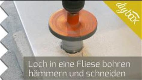 Bad Fliesen Loch Bohren by Feinsteinzeug Bohren Anleitung Diybook Ch