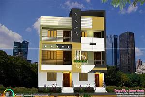 Twin house architecture Sameer