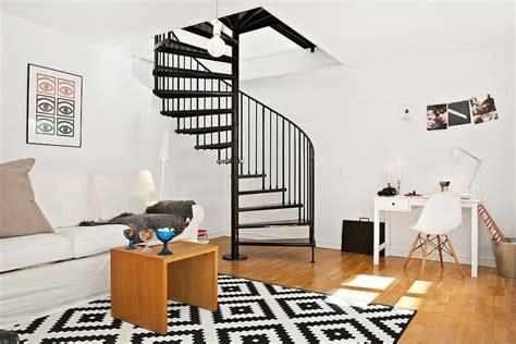 modern duplex apartment sweden