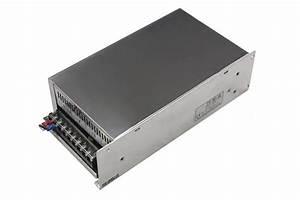 Power Supply - 110-220 Vac - 12 Vdc - 40a