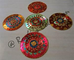 Roohi s collections ways of making diyas and rangoli