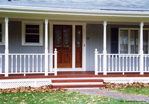 front porches on colonial homes adding a porch to a ranch style house with porches house