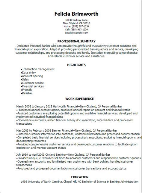 Personal Banker Objective by Personal Banker Resume Objective Bijeefopijburg Nl