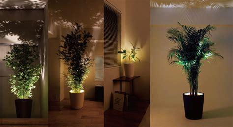 forestarium illuminated planter  green head