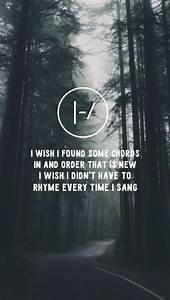 lyrics wallpaper backgrounds background Twenty One Pilots ...