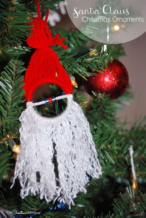 yarn tree christmas craft  kids juggling act mama