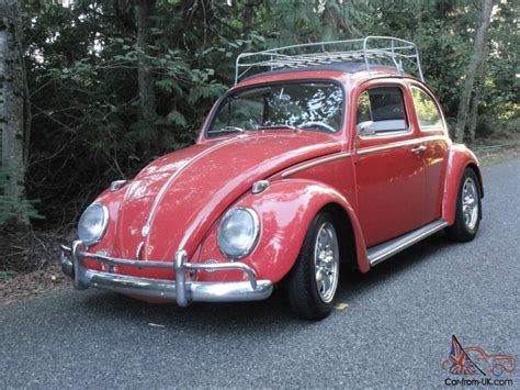 Vintage Volkswagen Vw Rag Top 1964 Beetle High Performance