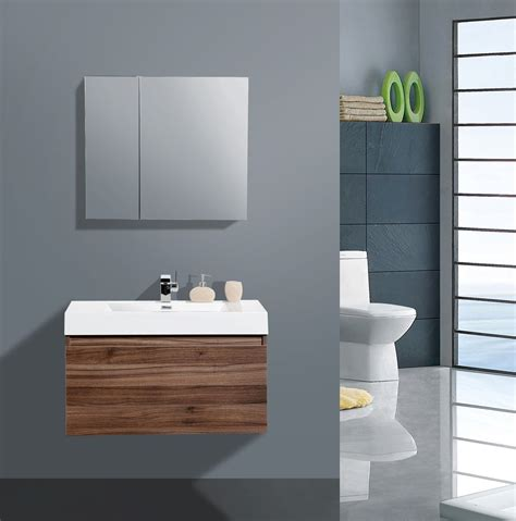 Modern Bathroom Vanities And Cabinets by Aqua Decor Venice 36 Inch Modern Bathroom Vanity Set W
