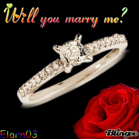 marry  ring  rose picture