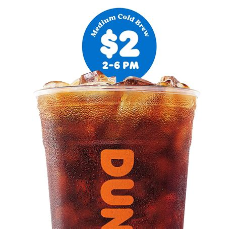 Dunkin donuts ready to drink iced coffee espresso 13 7 oz bag office depot. Medium Cold Brew Coffee at Dunkin' for $2 From 2-6 PM - EXP 9/24/2019   Cold brew, Brewing, Cold