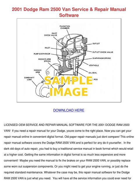 manual repair free 2001 dodge ram van 3500 engine control 2001 dodge ram 2500 van service repair manual by armandoalonso issuu