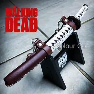 amc the walking dead michonne katana sword letter opener With walking dead katana letter opener