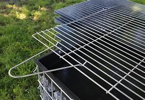 Gabionen L Form : neu holz xxl gabionen grill kohlegrill bbq holzkohlegrill standgrill steingrill ebay ~ Sanjose-hotels-ca.com Haus und Dekorationen