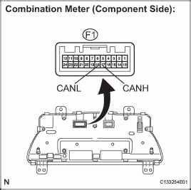 combination meter toyota camry repair toyota service blog With wire color code e2