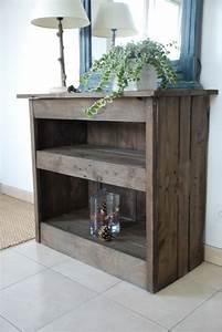 les 25 meilleures idees concernant meubles en bois de With fabriquer un meuble avec des palettes