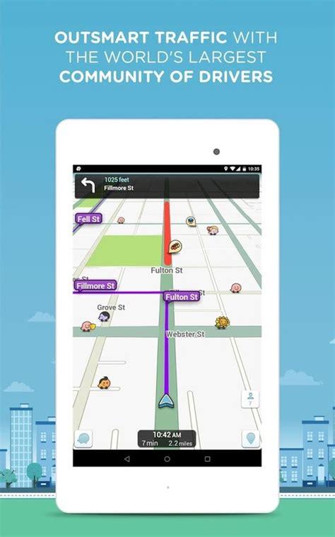 waze android app waze social gps maps traffic apk free android app