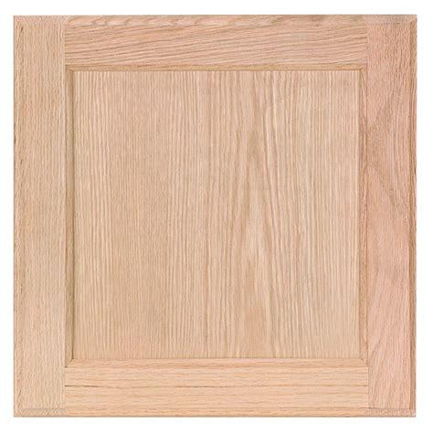 home depot kitchen cabinet doors 12 75x12 75 in cabinet door sle in unfinished oak