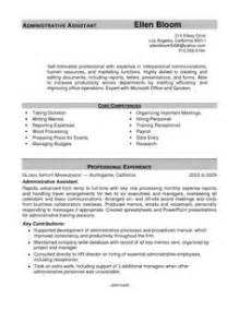 administrative assistant functional resumes template