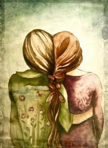 Art Best Friends Sisters