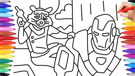 avengers endgame rocket raccoon and war machine how