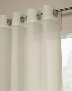 Melrose shimmer sheer grommet curtain panel curtainworkscom for Grommet curtains with sheers