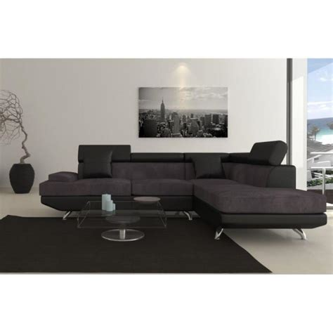canapé d angle gris et noir photos canapé d 39 angle gris et noir
