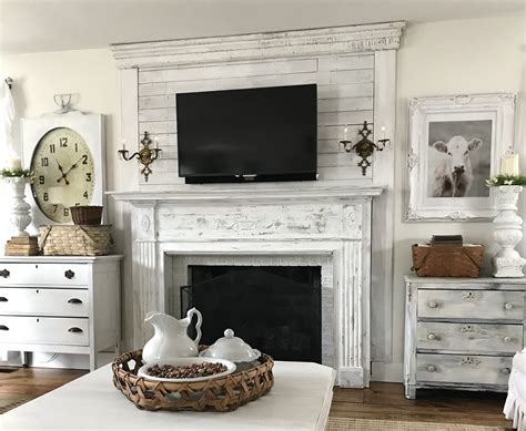 Shiplap Fireplace by Shiplap Above The Fireplace The House On Winchester