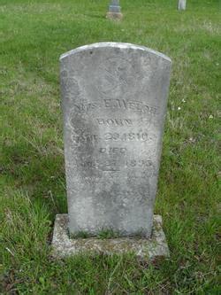 Elizabeth Hammock by Elizabeth Hammock Welch 1810 1895 Find A Grave
