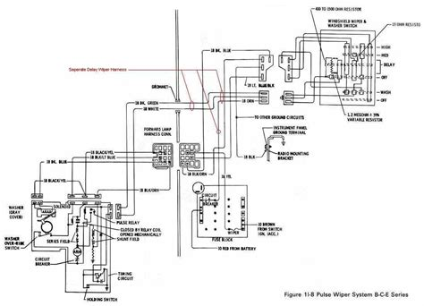 88 chevy truck wiper motor wiring diagram get free image