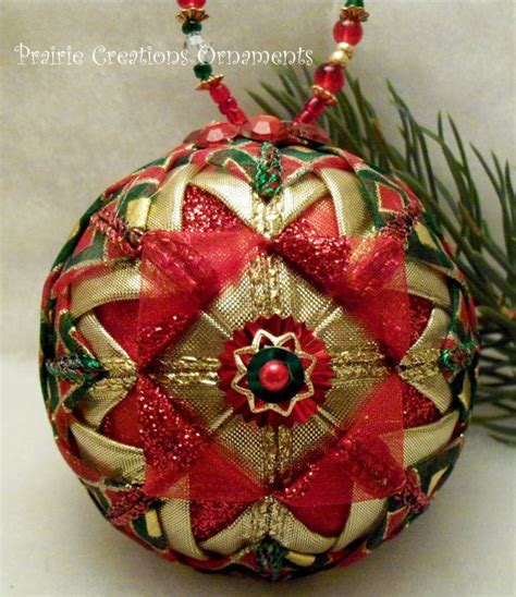 14 best photos of quilted christmas tree ornaments pattern quilted ball ornament pattern