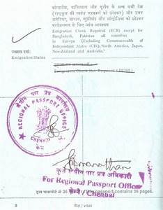 ecr ecnr seals in indian passport corpocrat magazine With passport documents ecr