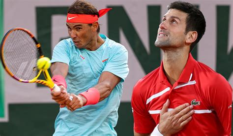 Rafael Nadal And Novak Djokovic Book Place In French Open ...