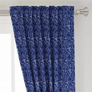 Amazon, Com, Roostery, Curtain, Panel, Bamboo, Asian, Birds, Ink, Blue, Navy, Print, Basketweave, Cotton