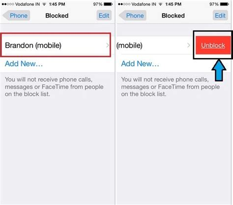 how to unblock contacts on iphone how to unblock a contact on iphone ios 11 ios 10