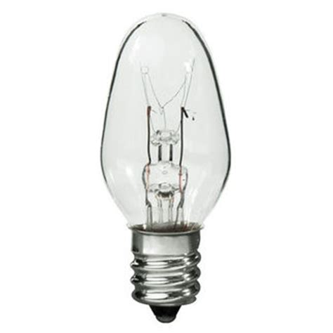 4 watt c7 light bulb candelabra base