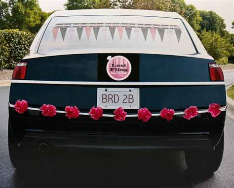bachelorette party car decorating kit bachelorette party
