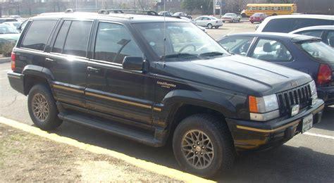 1995 jeep grand cherokee 1995 jeep grand cherokee information and photos momentcar