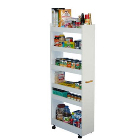 Thin Kitchen Pantry Cabinet by Kitchen Cart Rolling Kitchen Pantry Cabinet With Wood