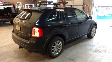 ford edge roof rail installation   roof