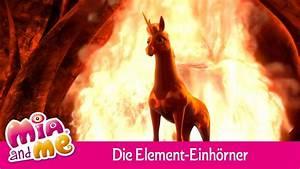 Die Element Einhrner Mia And Me YouTube