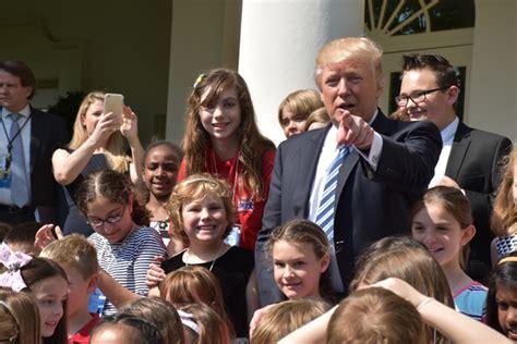 trump days scholastic 28th courtney pine april president children