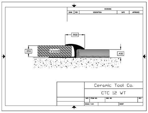 Ceramic Tool Wide Top Reducer   Ceramic Tool Company