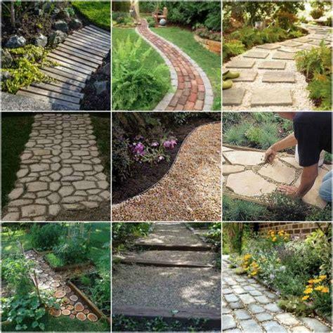 diy gardening 18 diy garden path ideas