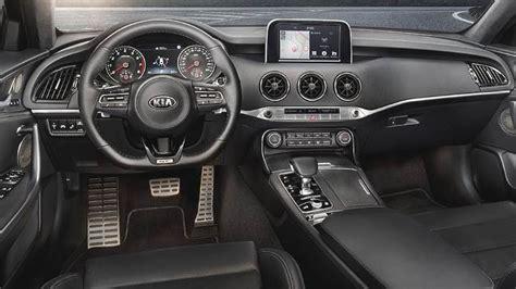 Kia Stinger 2018 dimensions, boot space and interior