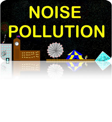 Of Noise by Noise Pollution
